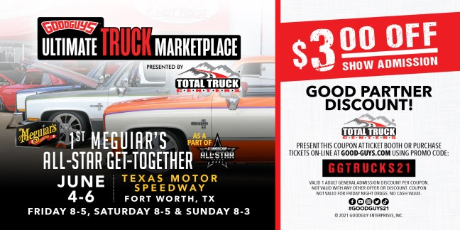 Ultimate Truck Marketplace Ticket Discount Now Available!