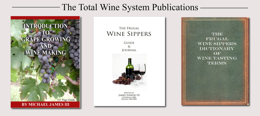 Grape Growing And Wine Making   The Total Wine Making System  Image of TWS 3 book sales page 1 1024x458
