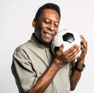 Pele famous success quote