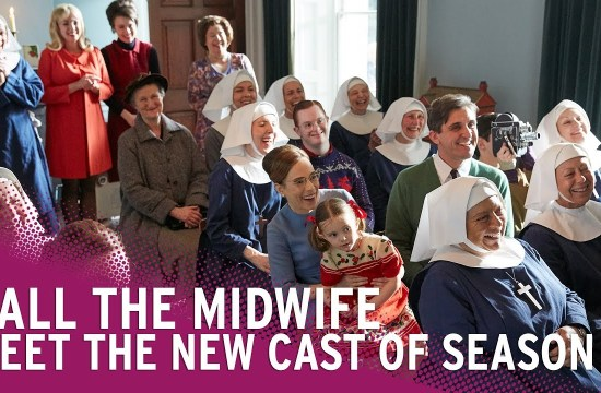 cImage shows all the midwife actors series 8