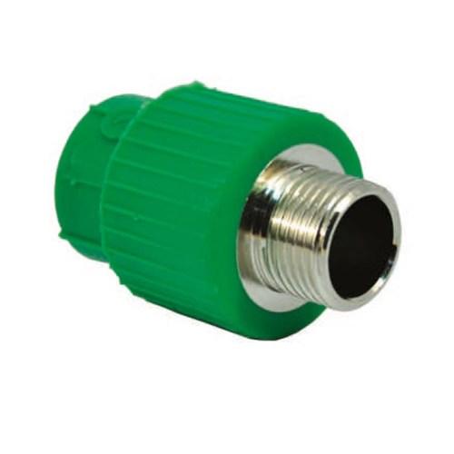 Racord PPR verde RandomKIT Valrom D.32×1″FE PN25 SDR6