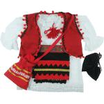 Costum cu motiv popular 0-3 luni 6 piese Noya