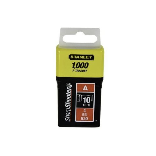 Pachet 1000 capse tapiterie tip A 10mm Stanley 1-TRA206T