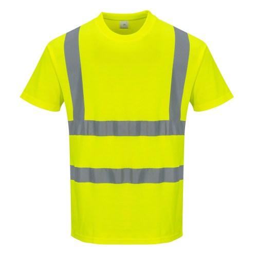 Tricou din Bumbac cu Maneci Scurte PortWest S170
