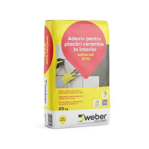 Adeziv gresie si faianta Weber ST10