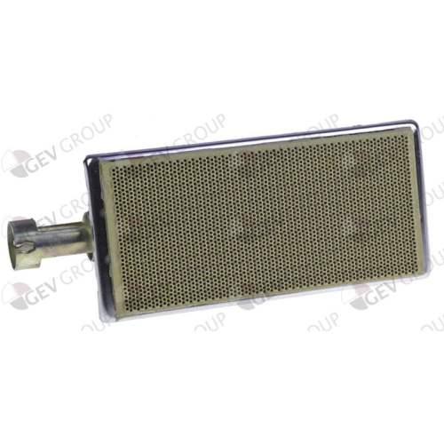 Arzator ceramic L 205mm L 81mm interval de ardere 158x73mm pentru mașini de gyros