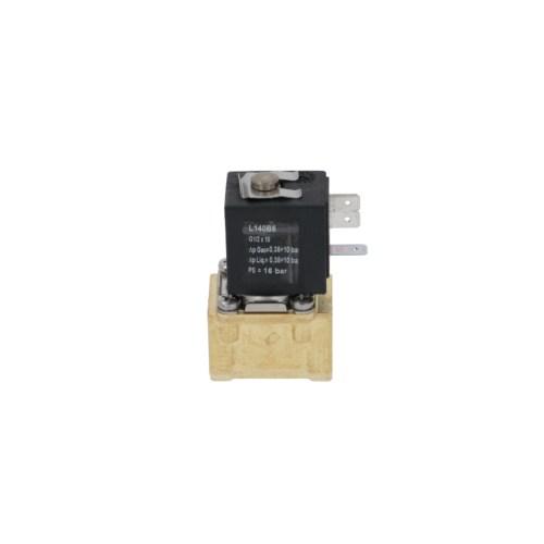 Electrovalva alamă 2-căi 24VAC intrare 1/2″ ieșire 1/2″ racord 1/2″ L 41mm DN 10mm