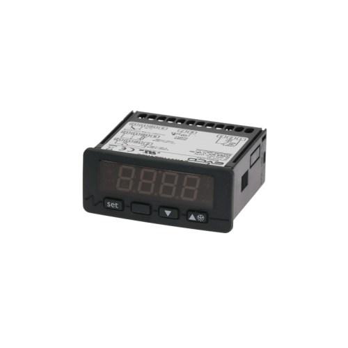 Controler digital EVERY CONTROL EVK411M dimensiuni de montaj 71x29mm 12V tensiune AC/DC