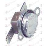 Termostat de contact cu bimetal DG 23,8mm temp. de deconectare 80°C 1NC 1cu -poli 16A