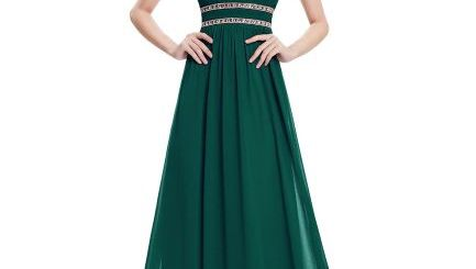 rochii pentru revelion. rochie lunga verde