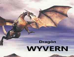 leyenda del dragón wyvern