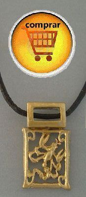 scorpio gold pendant