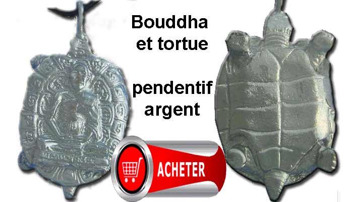 bouddha et tortue amulette signification signifié