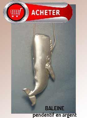 baleine pendentif argent bijoux signification symbole