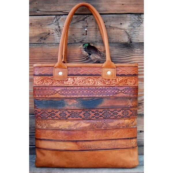 Belt Tote Brown