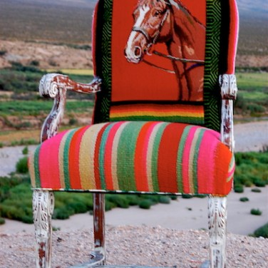 TOTeM Red Horse Chair
