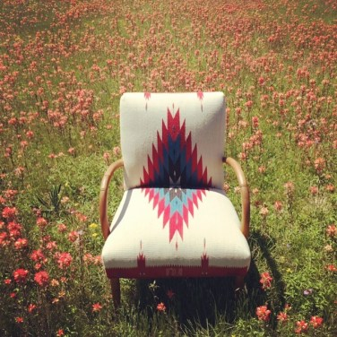 Chimayo Chair in Flower Field