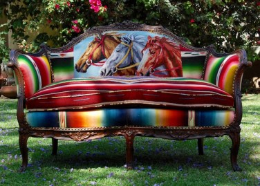 Horse-Serape-Sofa