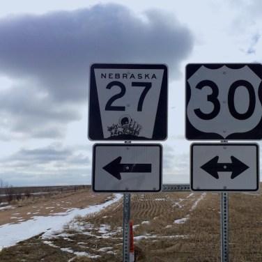 Cool Hwy 27 Sign Nebraska