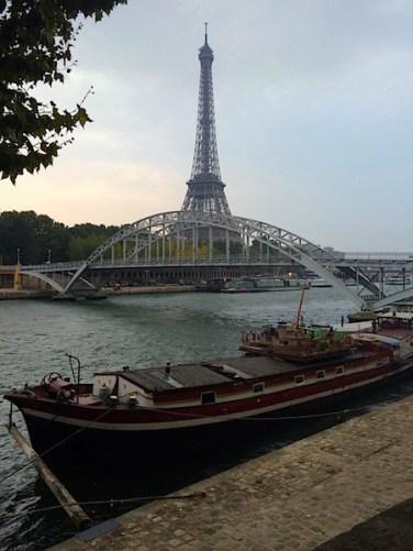 Paris River Boat