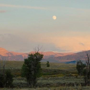 Jackson Hole Wyoming Moon