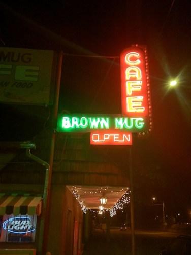 Brown Mug Cafe Winslow Az.