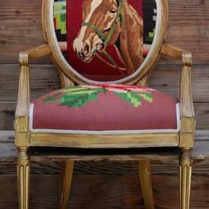 horserose-chair