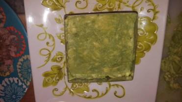 Second layer: avocado