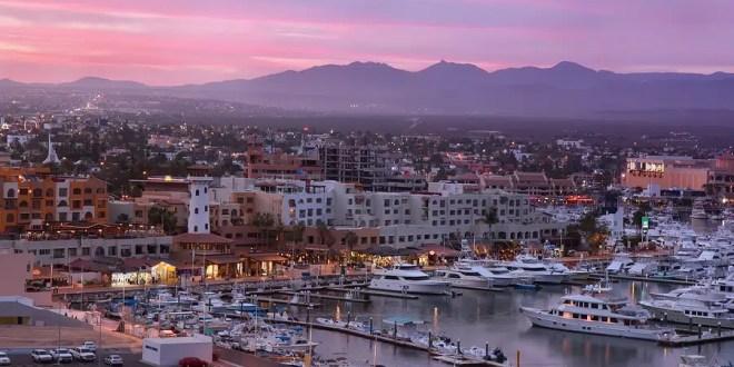 Los Cabos at sunset