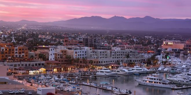 Sunset in Los Cabos