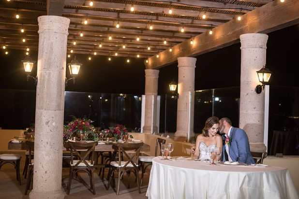 Wedding at Hacienda Encantada restaurant