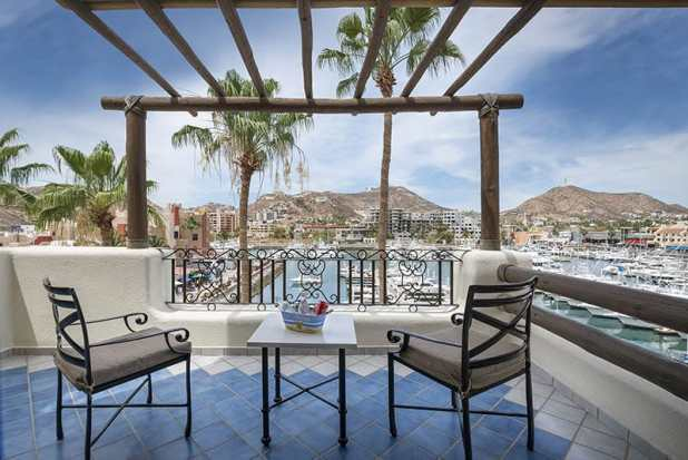 balcony at Marina Fiest the best location in Cabo San Lucas