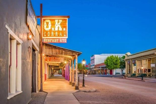 The O.K. Corral Gunfight Site