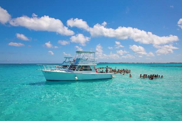 Cayman islands. Stigray city