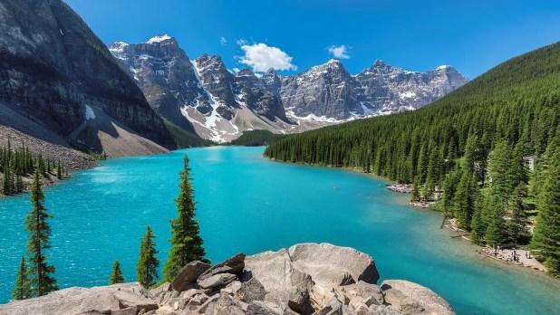 Rocky Mountains, Banff National Park, Canada.