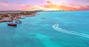 Aerial from Aruba
