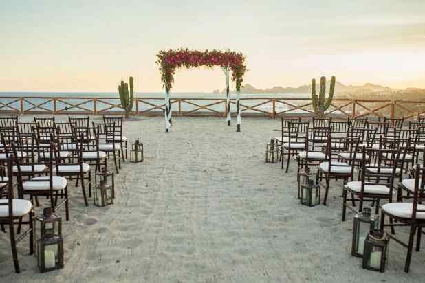 beach wedding Cabo San Lucas
