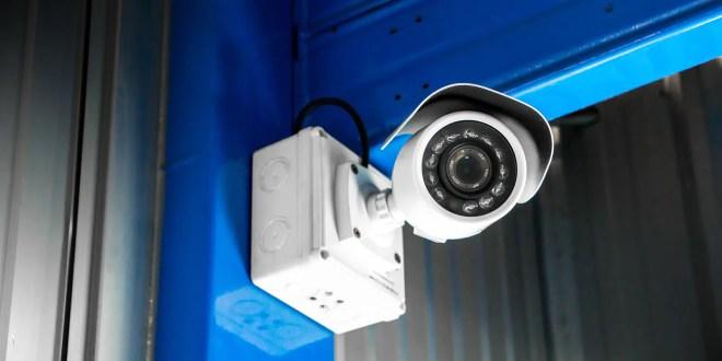 CCTV surveillance security camera video equipment concept
