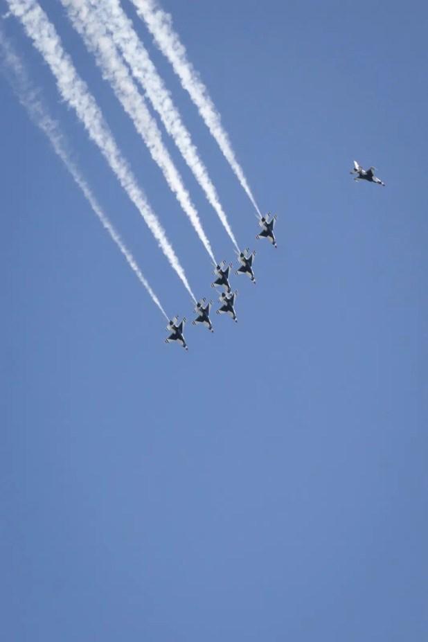 aerial salute