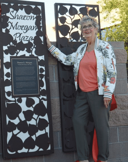 Fly Over Tribute For Sharon Morgan in Fountain Hills