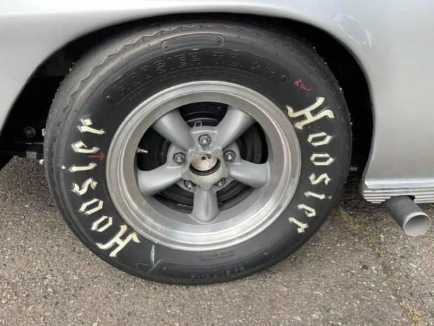 Hoosier tires for Vintage Corvette 1967 model