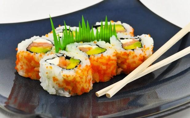 Sushi California Philly rolls