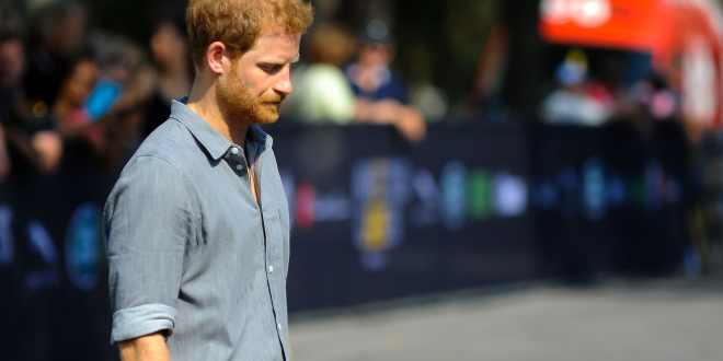 His Royal Highness Prince Harry meeting with competitors during Invictus Games in Toronto Canada.
