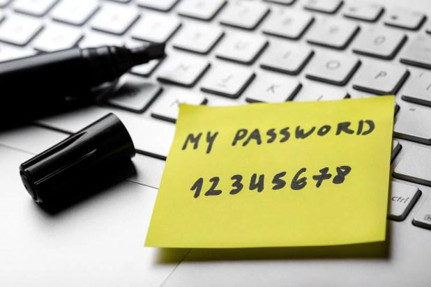 Using the same password