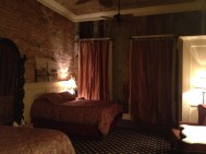 Our hotel room was so spacious!