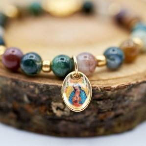 Armband mit der Muttergottes von Guadalupe -Modell Paula