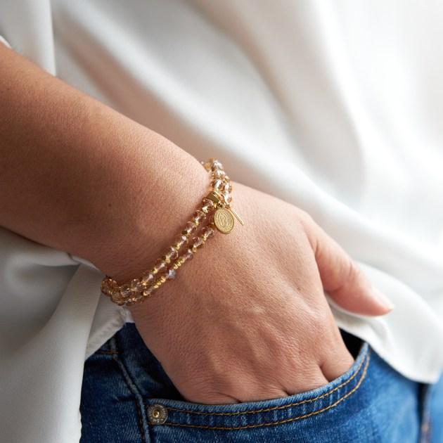 Armband und Rosenkranz MAAB toto - unique devotional pieces