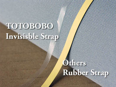 Magical, invisiable strap provide comfort and secure holding force