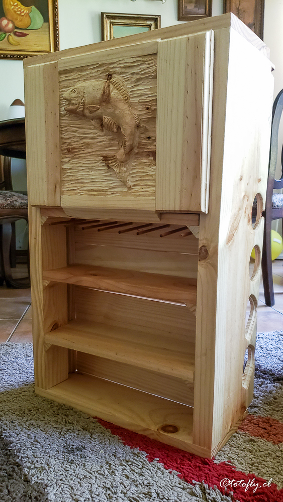Mi mueble de cañas y carretes