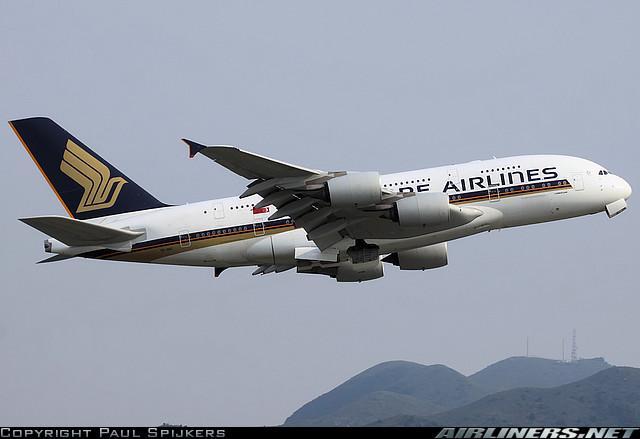 Singapore Air A380